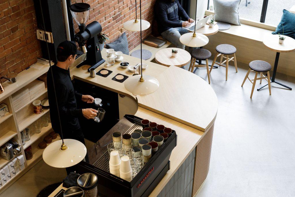 Good Tunes and Good Design at Victoria's Saint Cecilia Cafe