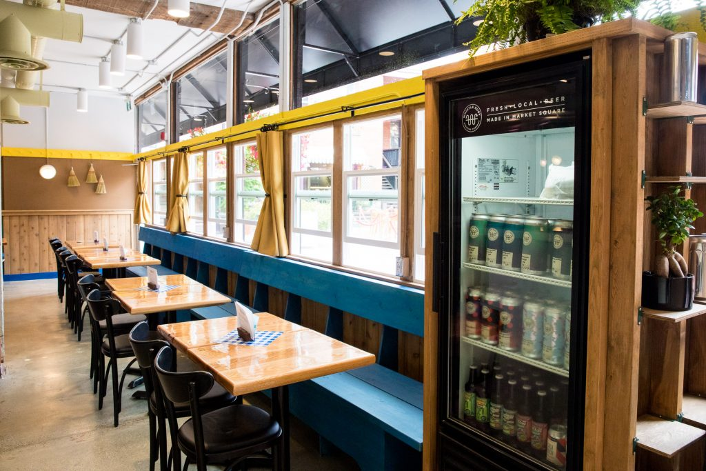 Whistle Buoy Brewing Now Open in Victoria's Market Square