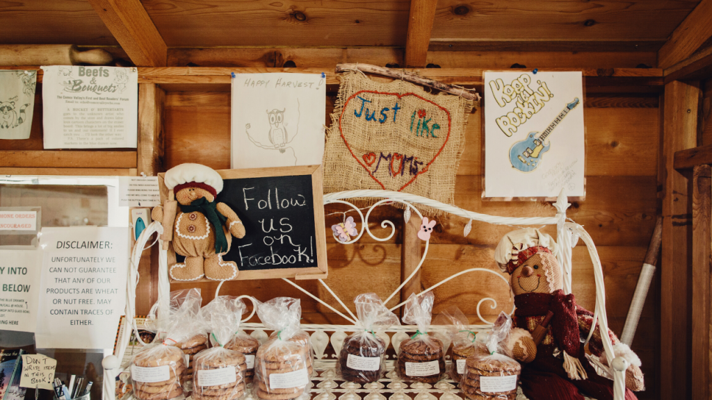 This self-serve bakery cottage in the Comox Valley is worth a road trip